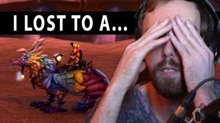 Asmongold LOSES To A GIRL Who Has More WoW Mounts Than Him