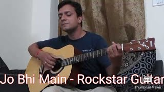 Jo bhi Main Kehna Chaha hoon From Rockstar Guitar Cover!!!!