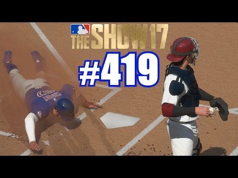 THE CATCHER IS PARALYZED!  MLB The  17  Road to the  419