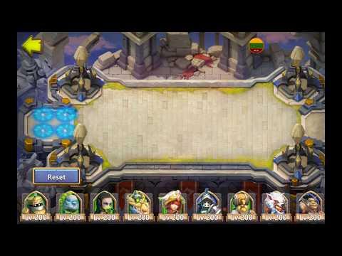 Squad Showdown + Training Log Gameplay Trials Teams Castle Clash