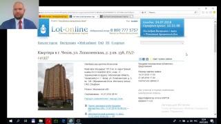 Как подавать заявку в торгах по банкротству на ЭТП   lot-online.ru