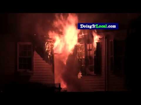Fairfield News: One Person Jumps From Burning Historic Home