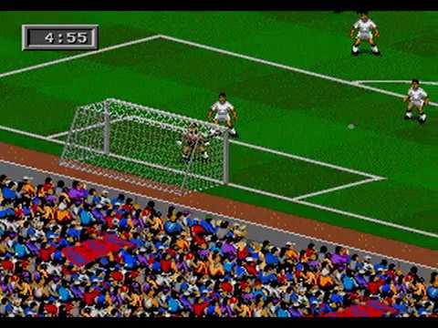 FIFA Soccer 95 Barcelona x Real Madrid Sega Genesis / Mega Drive