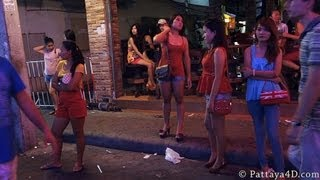 Repeat youtube video Pattaya 2013 Walking Street Nightlife, Part 2