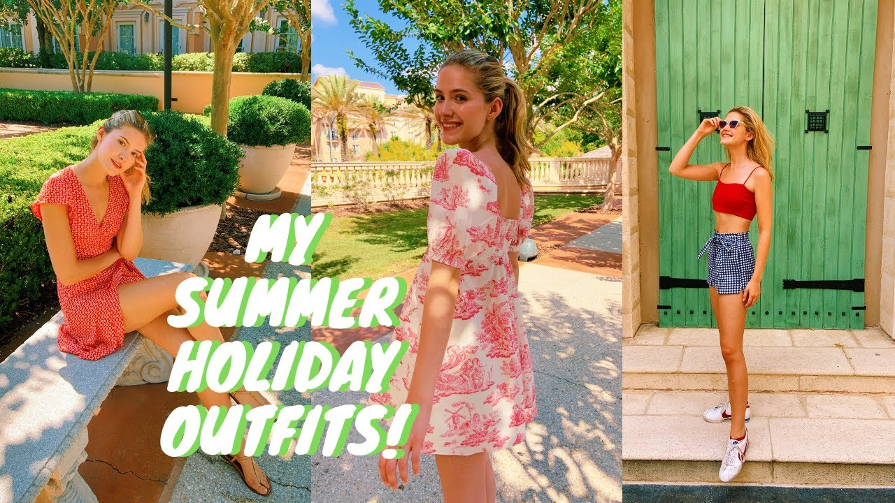 My Summer Holiday Outfits?! LOOKBOOK 2