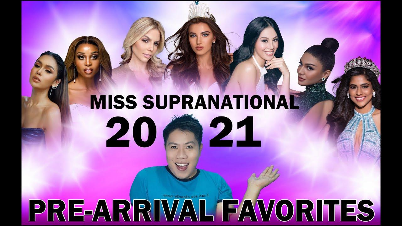 Miss Supranational 2021 | Pre-Arrival Favorites (TOP 25)
