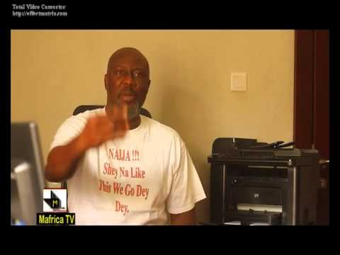 M africa online tv  Political Arena Interview with Dino Melaye... part 1