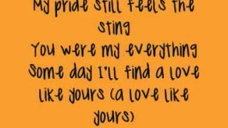 Train - 50 Ways To Say Goodbye (Lyrics On Screen).wmv