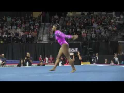 "Simone Biles Flawless ""Floor Exercise"""