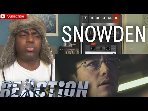 Thumbnail: Snowden Official Trailer #1 REACTION (2016) Joseph Gordon-Levitt!