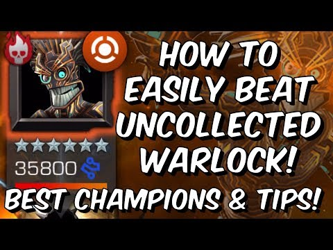 How To Easily Beat Uncollected Warlock - Best Champions & Tips - Marvel Contest of Champions