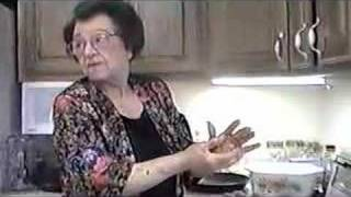 Nonna Cooking Meatballs Part Ii