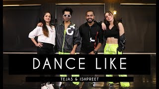 DANCE LIKE | Tejas & Ishpreet Ft. Harrdy Sandhu & Lauren | Dancefit Live