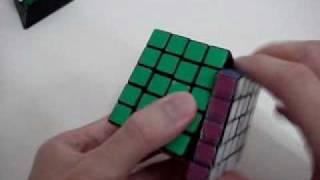 structure modification of a rubik s professor cube 5x5