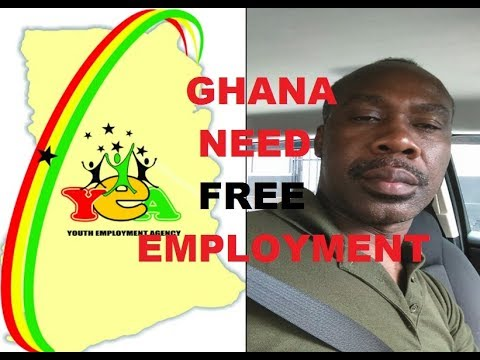 GHANAIANS LOVE FREE EDUCATION...BUT THEY ALSO NEED FREE EMPLOYMENT