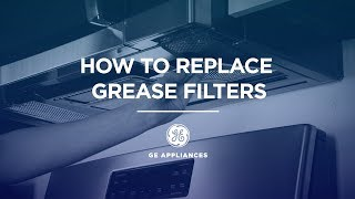 microwave grease filter replacement