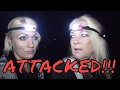 ATTACKED AT THIS ABANDONED OLD GHOST TOWN (GLASS THROWN)!