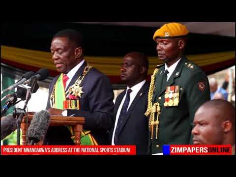 President Mnangagwa's address at the National Sports Stadium