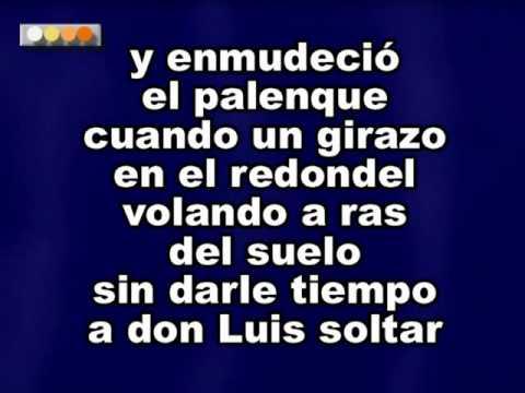 Vicente Fernandez La Muerte De Un Gallero Karaoke