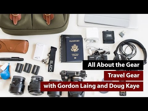 Travel Gear Review - All About the Gear