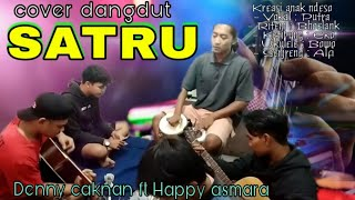 Cover Gitar Satru Denny Caknan ft Happy Asmara