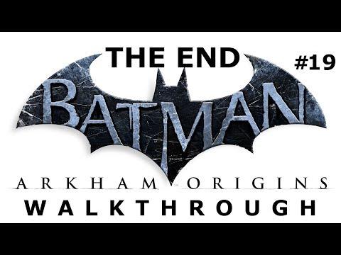 Batman  Arkham Origins ENDING! - Walkthrough Part 19 + Bane final battle!