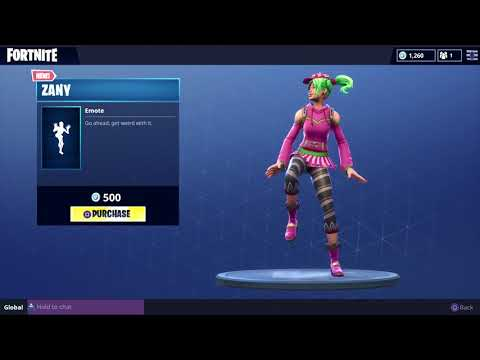 FORTNITE ZANY DANCE! (1 HOUR)