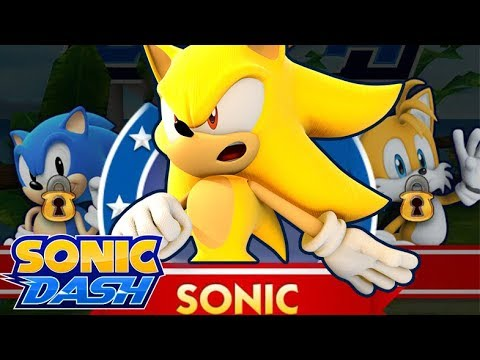 Sonic Dash Super Sonic Gameplay 60fps Youtube