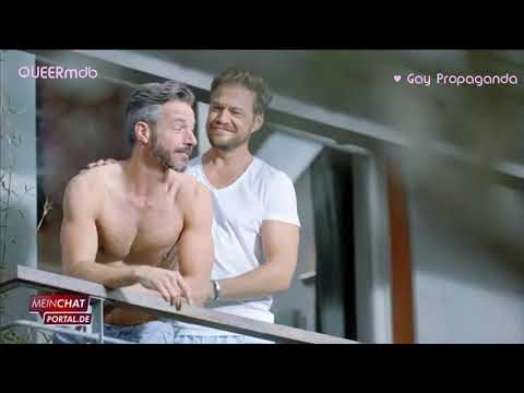Mein Chat Portal - RTL SMS Chat 2018 -- Schwuler Werbespot | German Gay Themed Commercial