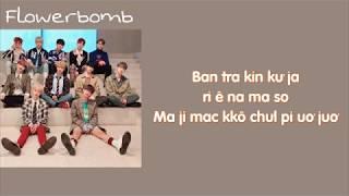 [Phiên âm tiếng Việt] Flowerbomb - Wanna One