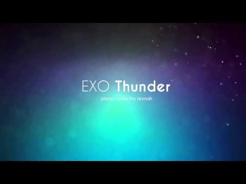EXO [Thunder] Piano Cover