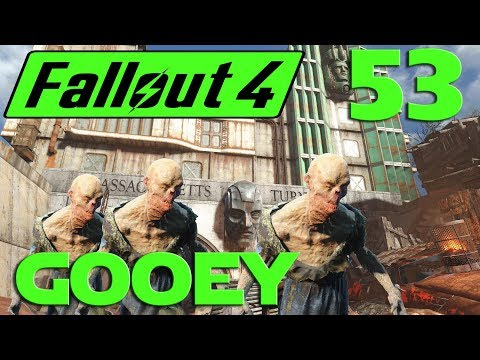 Let's Play Fallout 4 no mods ep 53 - Mass Pike Tunnel Gooey Infestation.