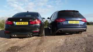 BMW M3 Vs Audi RS4: Pure Engine And Exhaust Noise