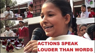 actions speak louder than words-ANMOLKWATRA