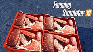 FARMING SIMULATOR 19 #62 - FABBRICA DI CARNE w/Robymel81 - NF MARSCH ITA