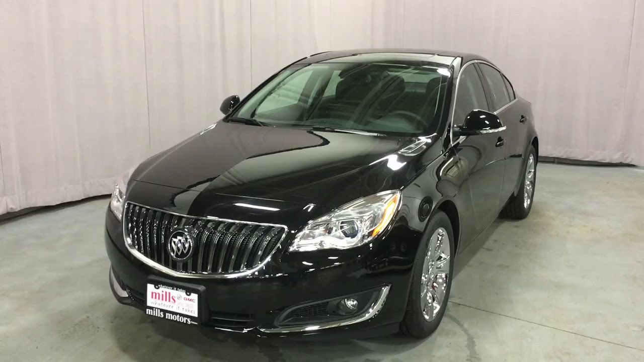 2016 buick regal turbo premium ii