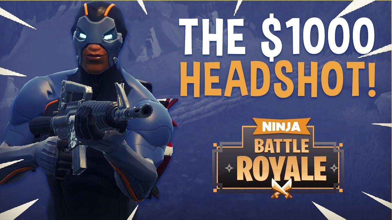 The 1000 Headshot Fortnite Battle Royale Highlights Ninja