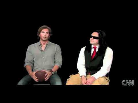 Tommy Wiseau explains the spoons (The Room) (Warning: Deep Content)