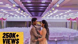 Our Traditional Tamil Wedding Promo - Cinematic love story!! #Dance #Reception #Wedding