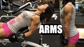Arm Workout - Bodybuilding Competition 5 weeks out