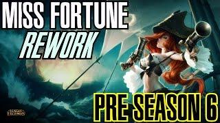 League of Legends - MISS FORTUNE REWORK PRE SEASON 6 - WHEPA DAMAGES [PT-BR]