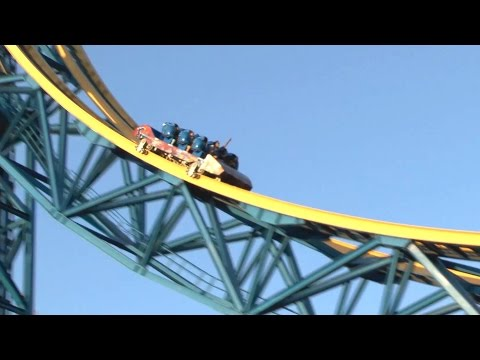 Superman Escape from Krypton (HD POV) - Six Flags Magic Mountain