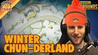 Fraggin in a Winter Chun-derland - chocoTaco PUBG Gameplay