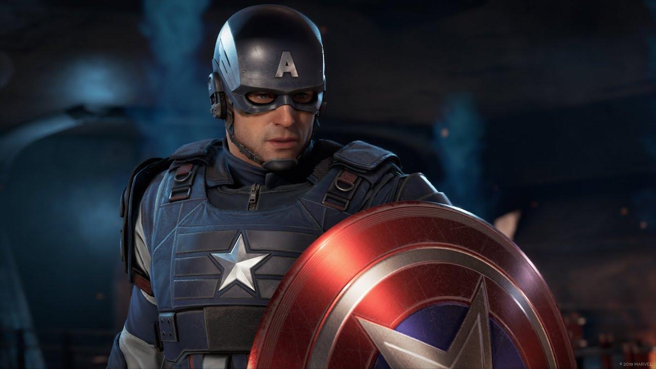 Profile of leading hero, Captain America