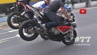 Motos esportivas acelerando em Curitiba #77
