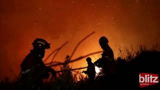 Ophelia, l'uragano alimenta gli incendi