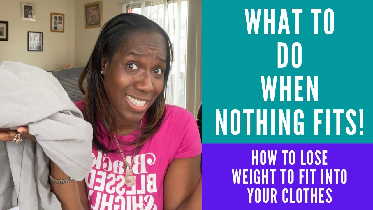 How to lose weight to fit into your clothes- 5 tips to success