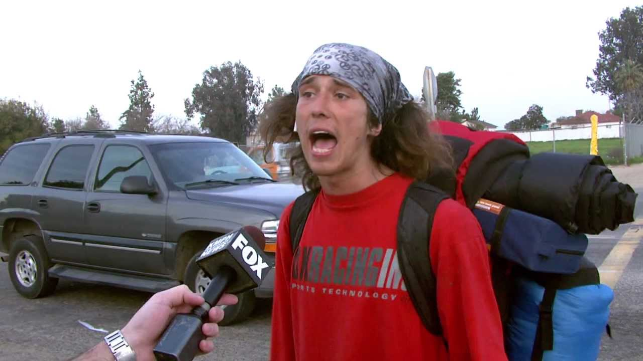 Kai, the hatchet-wielding hitchhiker, tells all but his name