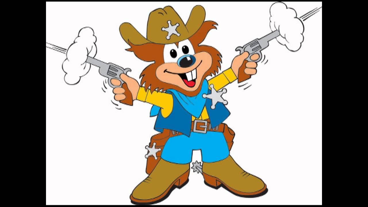 jeg er en glad lille cowboy noder