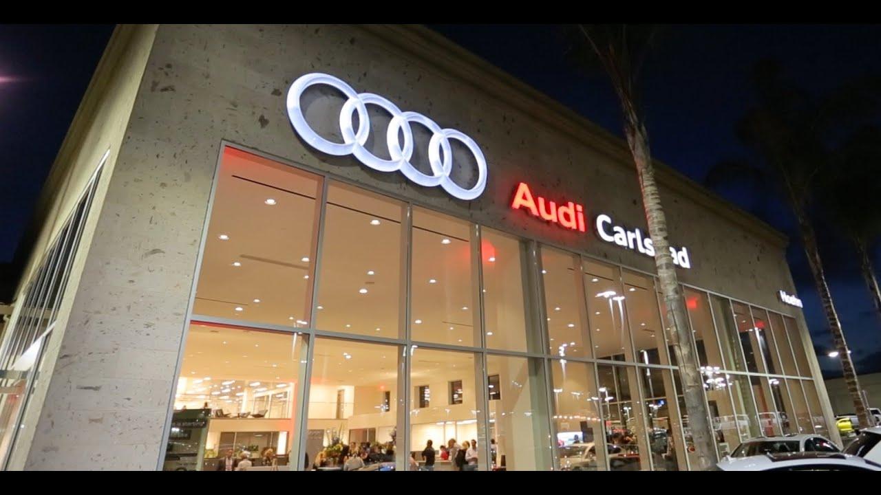 Audi Carlsbad Grand Opening Event YouTube - Audi carlsbad